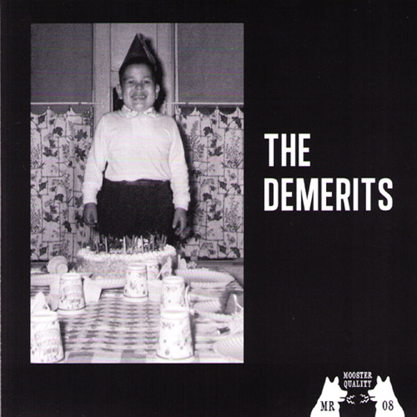 "Demerits- Shake 7"" ~REVILLOS / BLUE COKE BOTTLE CLEAR WAX LTD TO 100!"