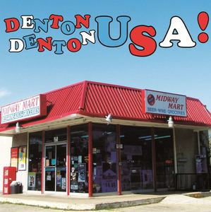 V/A- 'Denton Denton USA!' LP - Play Pinball - Dead Beat Records
