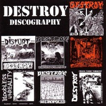 "Destroy- ""Discography"" CD - Havoc - Dead Beat Records"