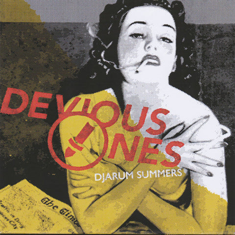 "Devious Ones- Djarum Summers 7"" ~RARE ALTERNATE COVER!"