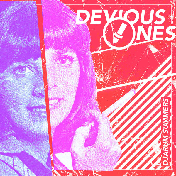 "Devious Ones- Djarum Summers 7"" ~RAREST RED VINYL LTD TO 100!"