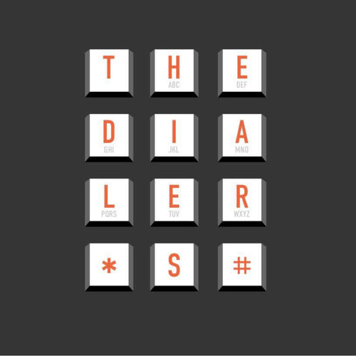 The Dialers- S/T LP ~SPONSORS!