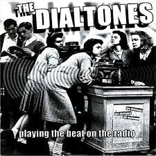 "Dialtones- Playing The Beat On The Radio 7"" - Dead Beat - Dead Beat Records"