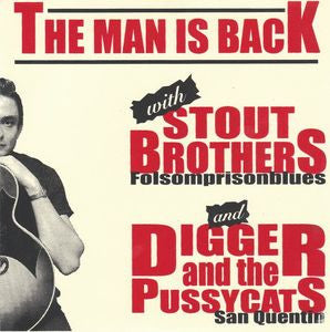 "Digger And the Pussycats/Stout Brothers- Split 7"" :500 #'D - Beast - Dead Beat Records"