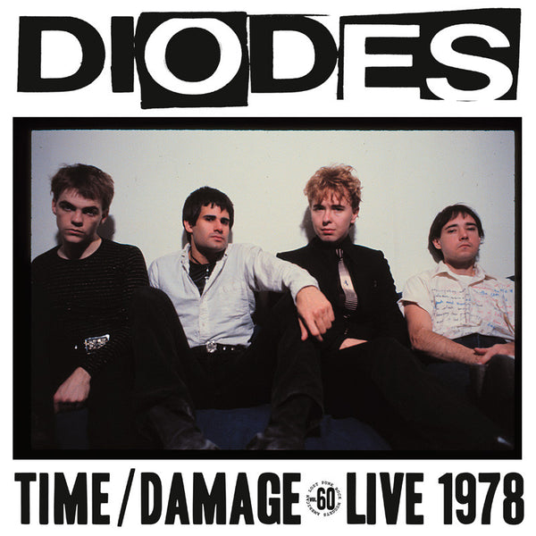 DIODES - Time/Damage LP ~REISSUE - Rave Up - Dead Beat Records