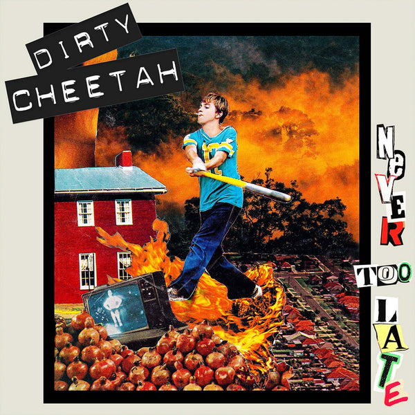 Dirty Cheetah- Never To Late LP ~EX PALE LIPS!