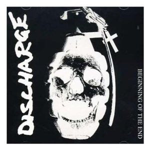 "Discharge- The Beginning Of The End 7"" - Thunk - Dead Beat Records"