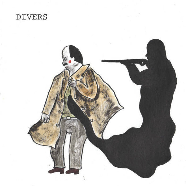 "Divers- Achin' On 7"" ~NUDE BEACH! - Snuffy Smile - Dead Beat Records"
