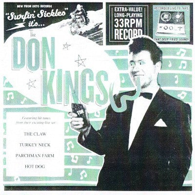 "DON KINGS - Surfin' Sickles 7"" - Perpetrator - Dead Beat Records"