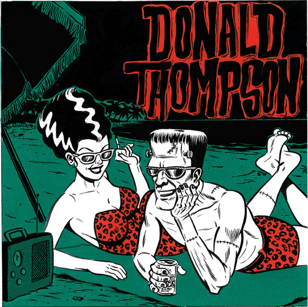 "Donald Thompson- Two 7"" ~DICTATORS!"