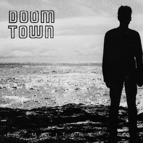 "Doom Town/No More Art- Split 7"" ~EX RED DONS! - Rock Star - Dead Beat Records"