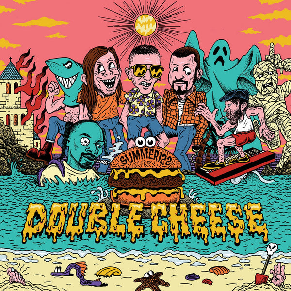 Double Cheese- Summerizz LP ~JAY REATARD!