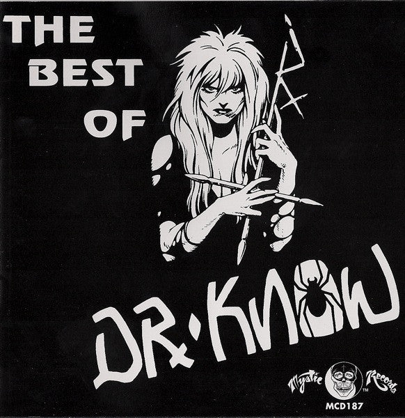 Dr Know- Best Of CD ~ MYSTIC RECORDS - Mystic - Dead Beat Records
