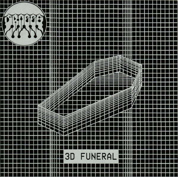 "Draggs- 3D Funeral 7"" ~RARE COVER LTD TO 85!"