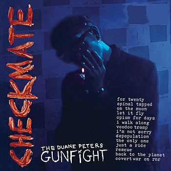 DUANE PETERS GUNFIGHT- Checkmate LP - Indian - Dead Beat Records