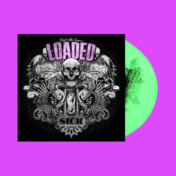 "Duff Mckagan's Loaded- Sick LP + BONUS 7"" ~RARE GREEN HAZE WAX LTD TO 300!"