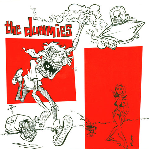 "The Dummies- I'm Gone 7"" ~HIP PRIESTS! - Get Hip - Dead Beat Records"