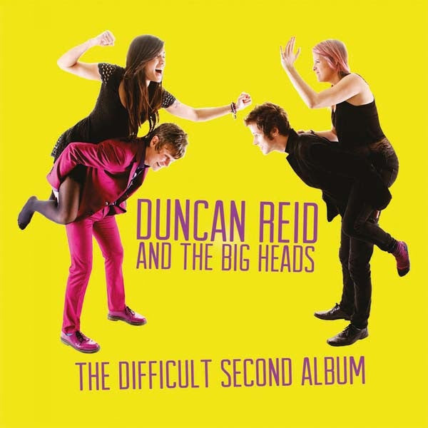 Duncan Reid & The Big Heads- Difficult Second Album LP ~EX THE BOYS! - Wanda - Dead Beat Records