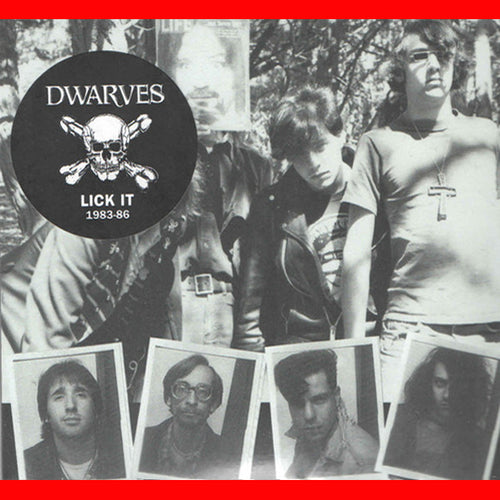 Dwarves- Lick It: 1983-86 CD ~REISSUE W/ GATEFOLD COVER!