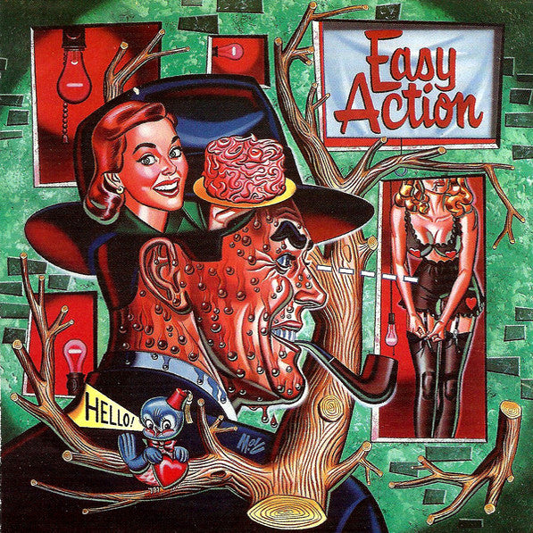 Easy Action- S/T LP ~KILLER! - Reptilian - Dead Beat Records