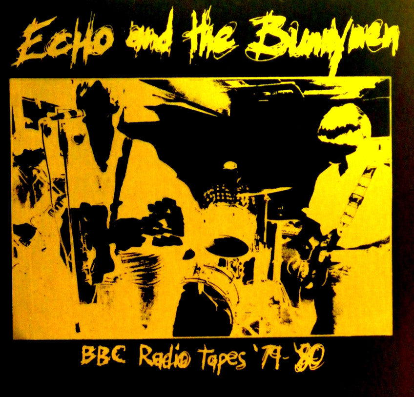 Echo And The Bunnymen- BBC Radio Tapes '79 - '80 LP - Embassador - Dead Beat Records