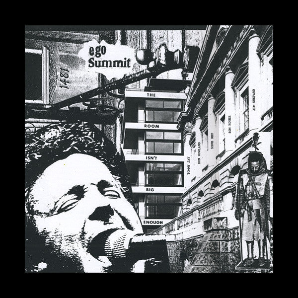 Ego Summit- The Room Isn't Big Enough LP ~EX GIBSON BROTHERS! - 540 - Dead Beat Records