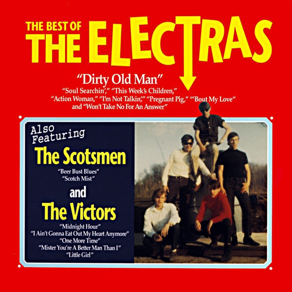 The Electras- Best Of Electras LP ~REISSUE! - Get Hip - Dead Beat Records