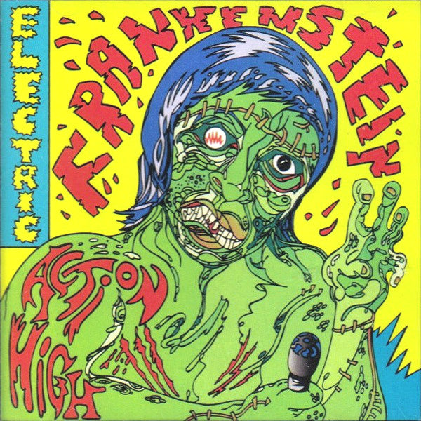 Electric Frankenstein- Action High CD ~VERY RARE FIRST PRESSING!