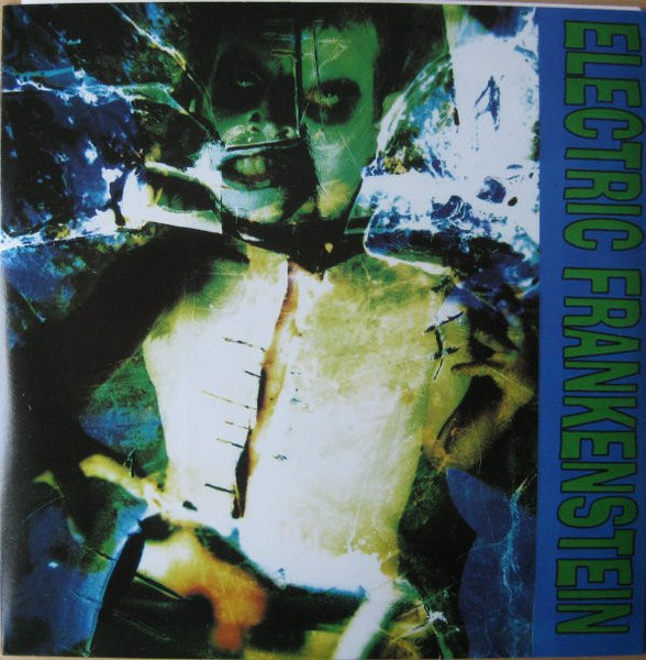 "Electric Frankenstein- Teenage Shutdown 7"" ~GREEN WAX LTD TO 100 - Reptilian - Dead Beat Records"