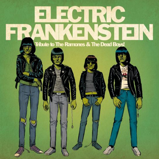 "Electric Frankenstein- Tribute 7"" ~LTD TO 200 ON GREEN + POSTER! - Ghost Highway - Dead Beat Records"