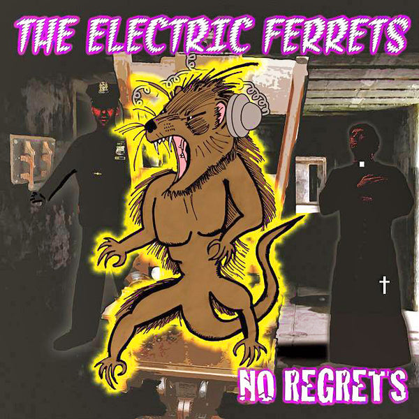 Electric Ferrets- No Regrets CD ~ADVERTS!