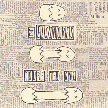 "The Elsinores- You're The One 7"" ~LTD TO 300! - Karmic Swamp - Dead Beat Records"