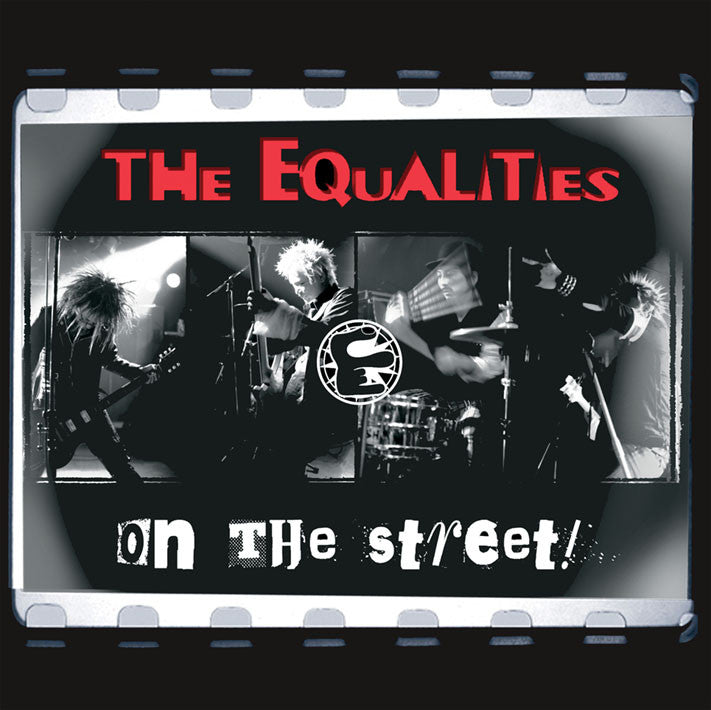 Equalities- In The Streets LP ~EX DICK SPIKIE! - Loud Punk - Dead Beat Records