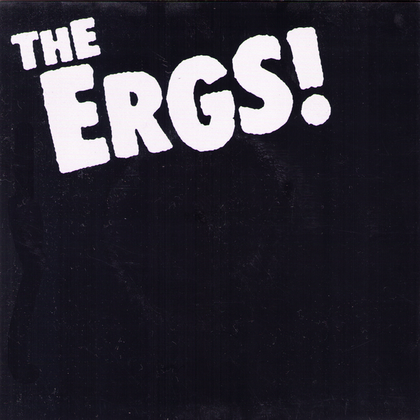 "The Ergs- Blue 7"" ~RARE ORANGE WAX!"