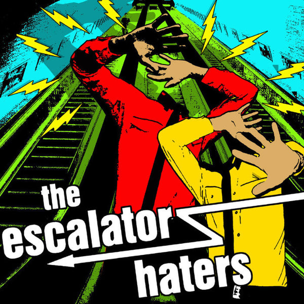 "Escalator Haters - S/T 10"" ~BUZZCOCKS! - NO FRONT TEETH - Dead Beat Records"