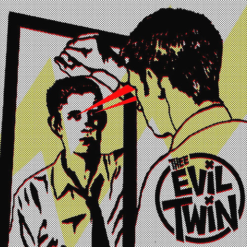 "Thee Evil Twin- S/T 7"" ~EX RADIO REELERS!"