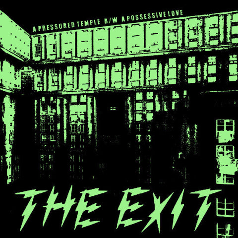 "The Exit- A Pressured Temple 7"" ~SECOND PRESSING! - NO FRONT TEETH - Dead Beat Records"