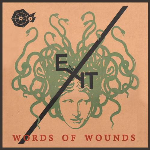 The Exit- Words Of Wounds LP ~VERY RARE GLASS EYE COVER LTD TO 50!