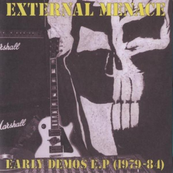 "External Menace- Early Demos 1979- '84 7"" ~REISSUE! - Loud Punk - Dead Beat Records"