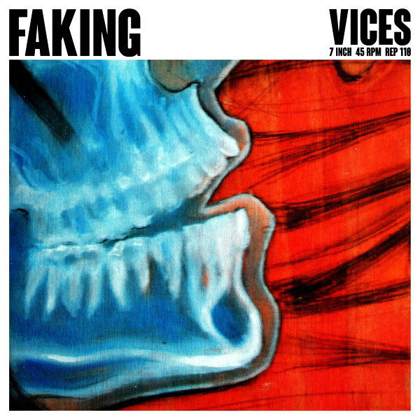 "Faking- Vices 7"" ~LTD TO 200 ON GREEN WAX! - Reptilian - Dead Beat Records"