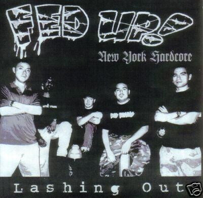 "Fed Up!- 'Lashing Out' 7"" - United Riot - Dead Beat Records"