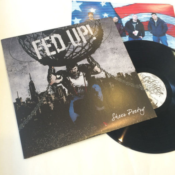 Fed Up!- Sheer Poetry LP ~SICK OF IT ALL! - Welfare Records - Dead Beat Records