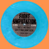 "Fight Amputation- No Trace 7"" ~BLUE STATIC WAX LTD TO 200! - Reptilian - Dead Beat Records - 2"