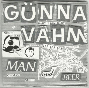 "Fight Amputation/Gunna Vahm- Split 7"" - Reptilian - Dead Beat Records"
