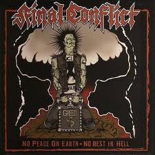 Final Conflict- No Peace On Earth CD - SOS - Dead Beat Records