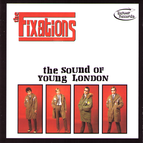 Fixations- The Sound Of Young London CD ~THE JAM!