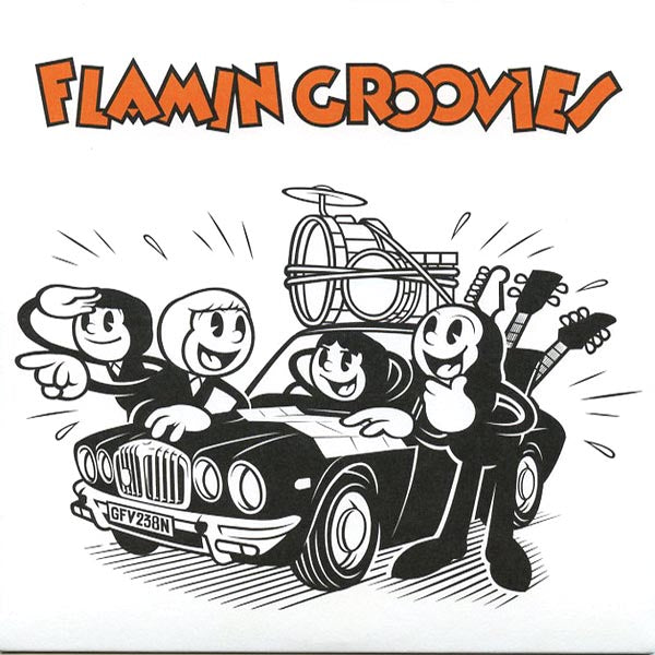 "Flamin Groovies- Crazy Macy 7"" ~VERY RARE REISSUE / ORANGE WAX!"