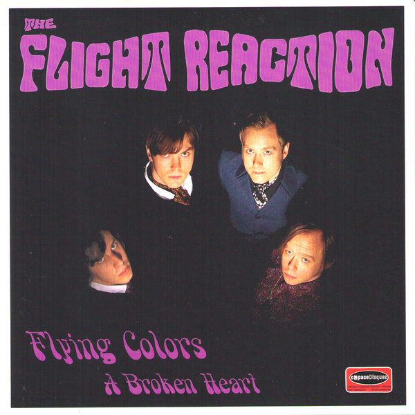 "Flight Reaction- Flying Colors 7"" ~EX CRIMSON SHADOWS / MAGGOTS!"