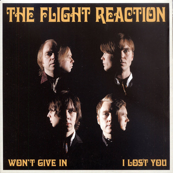 "Flight Reaction- Won't Give In 7"" ~EX CRIMSON SHADOWS!"