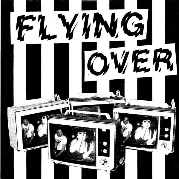 "FLYING OVER- 'Danger Boy' 7"" - Frantic City - Dead Beat Records"